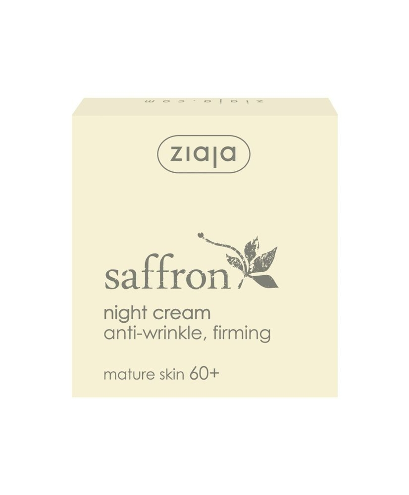 Ziaja saffron - anti-wrinkle and firming night cream 60+ 50ml - Onde comprar