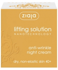 Ziaja lifting solution - night cream anti-wrinkle 40+ 50ml - Onde comprar