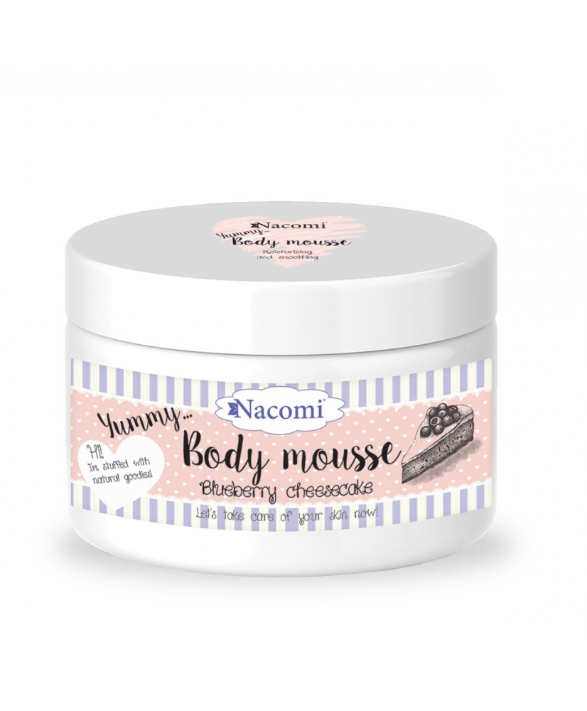 Nacomi – bilberry-scented body mousse 180ml - Onde comprar