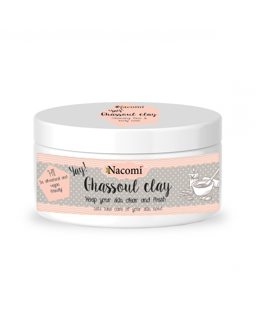 Nacomi ghassoul clay - cleansing face and body mask 94g - Onde comprar