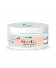 Nacomi red clay - redness reducing face mask 74 g - Onde comprar