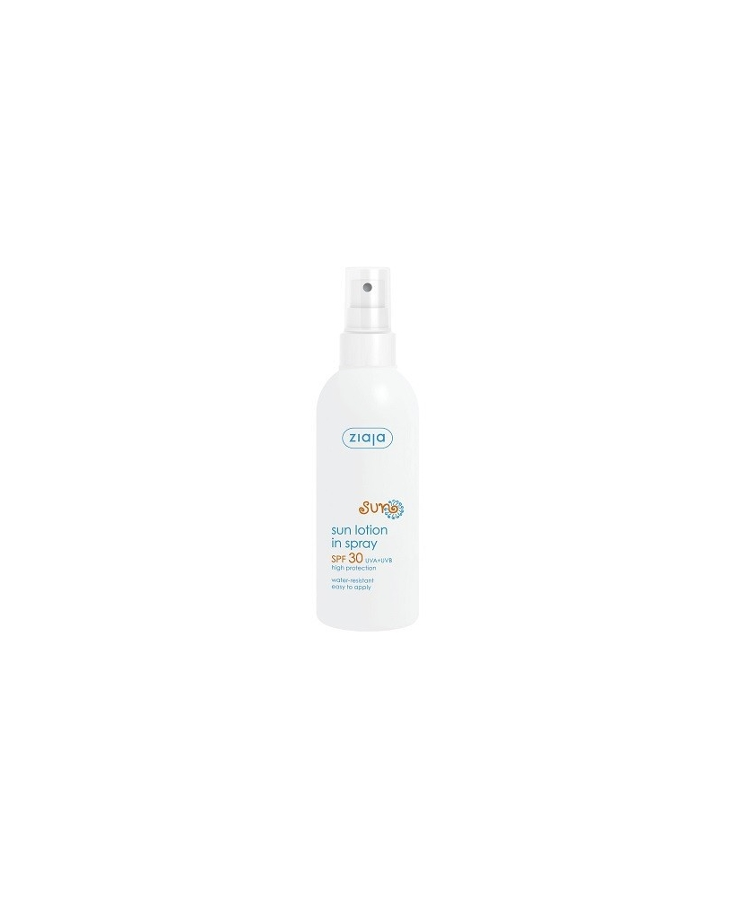 Ziaja sun – sun body lotion in spray SPF 30 170ml - Onde comprar