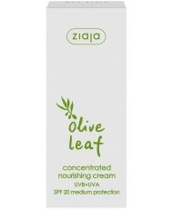 Ziaja olive leaf – nourishing face cream SPF 20 50ml - Onde comprar