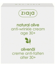 Ziaja natural olive – anti-wrinkle face cream 30+  50ml - Onde comprar
