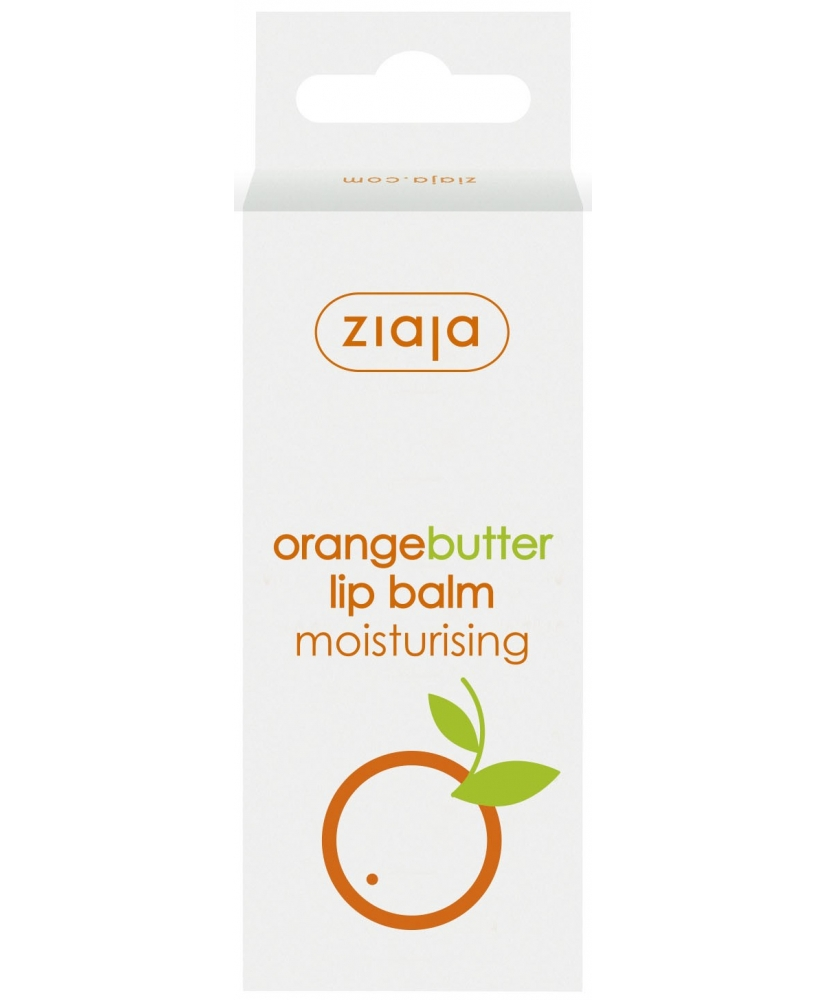 Ziaja orange butter – moisturizing lip balm 10ml - Onde comprar