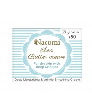 Nacomi – Shea butter day cream 50+ 50ml - Onde comprar