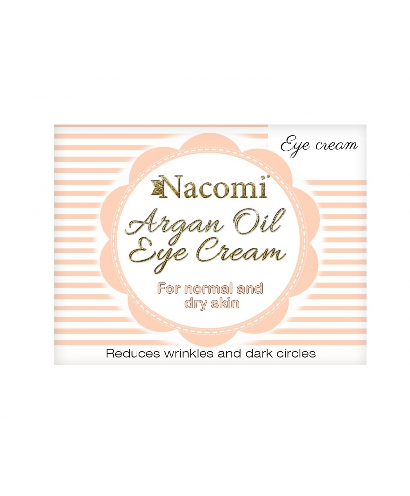 Nacomi - Argan Oil Eye Cream 15ml - Onde comprar