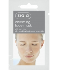 Ziaja Mask – Cleansing face mask with grey clay 7ml - Onde comprar