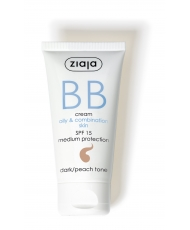 Ziaja BB – cream oily&combination skin SPF 15 dark / peach tone 50ml - Onde comprar