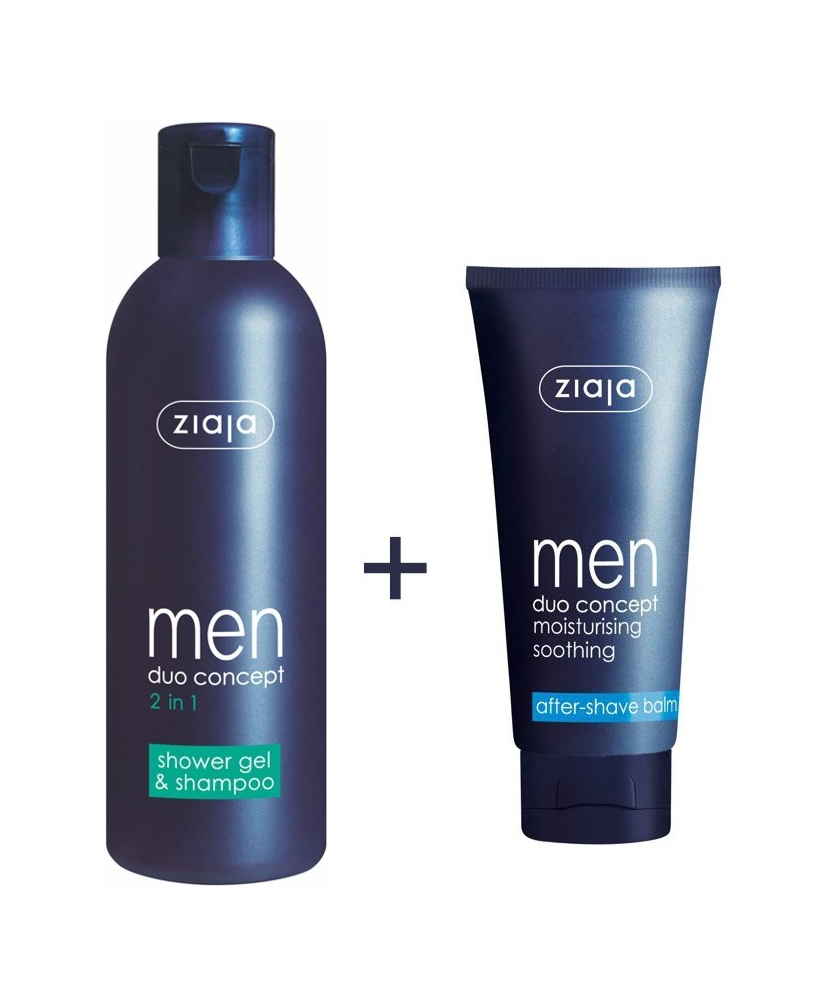 Ziaja men promotional set - for face and body - Onde comprar