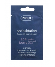 Ziaja Acai Berry – Overnight face and neck smoothing mask 7ml - Onde comprar