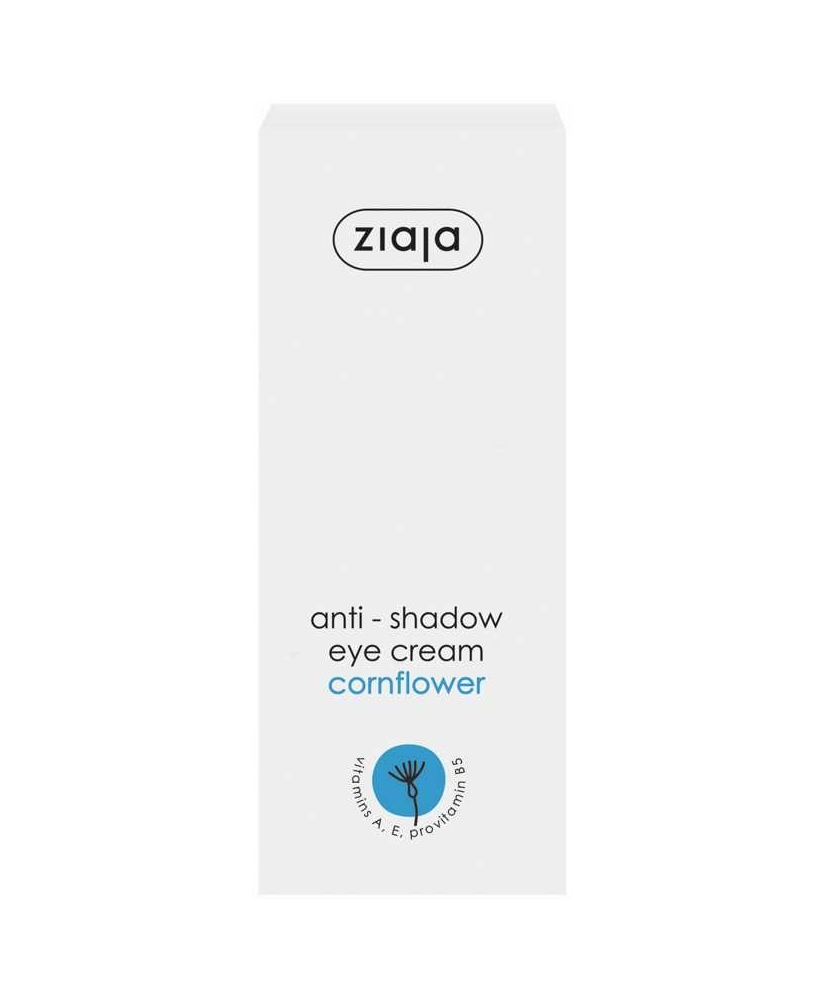 Ziaja Eye Creams – anti-shadow eye cream with cornflower 15ml - Onde comprar