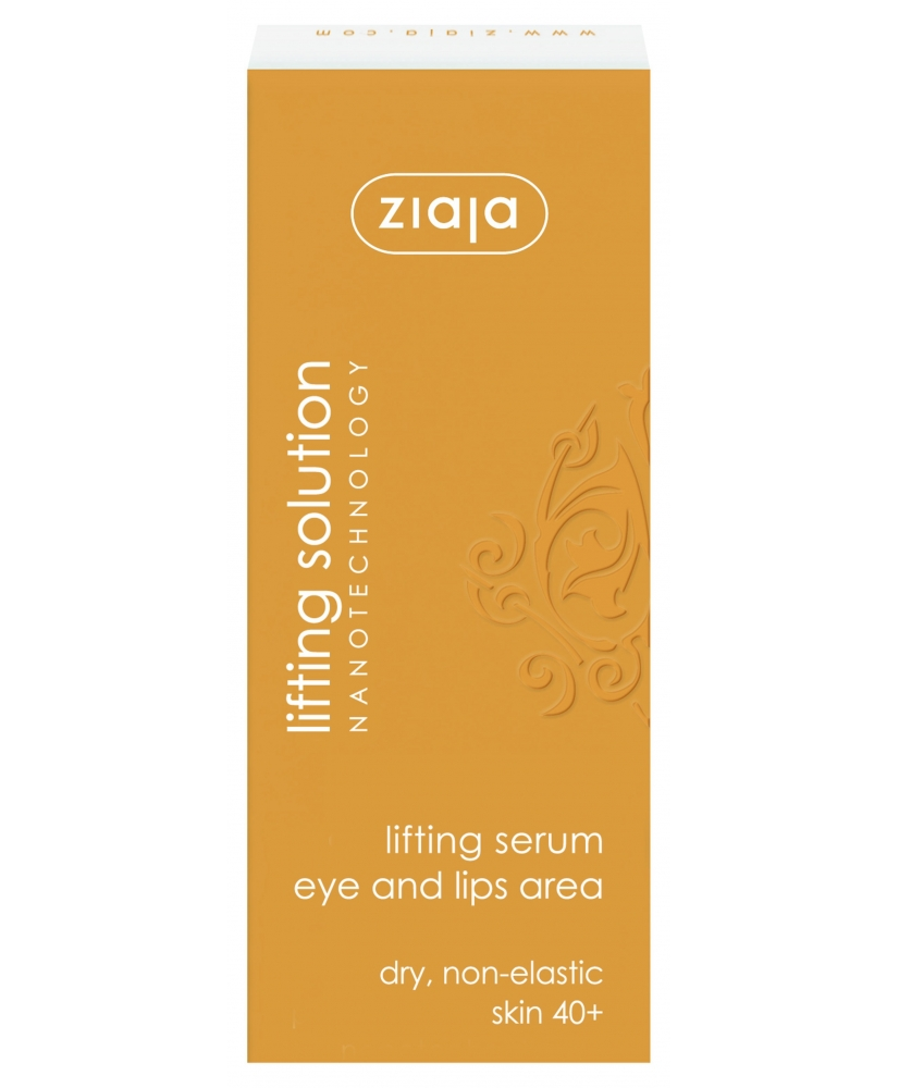 Ziaja lifting solution - active serum for eye and lips area 40+ 30ml - Onde comprar