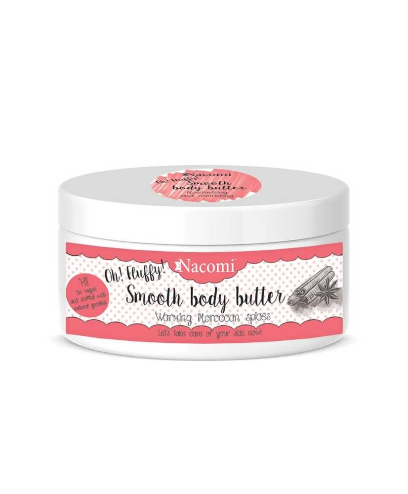 Nacomi – smooth body butter Warming Moroccan Spices 100g - Onde comprar