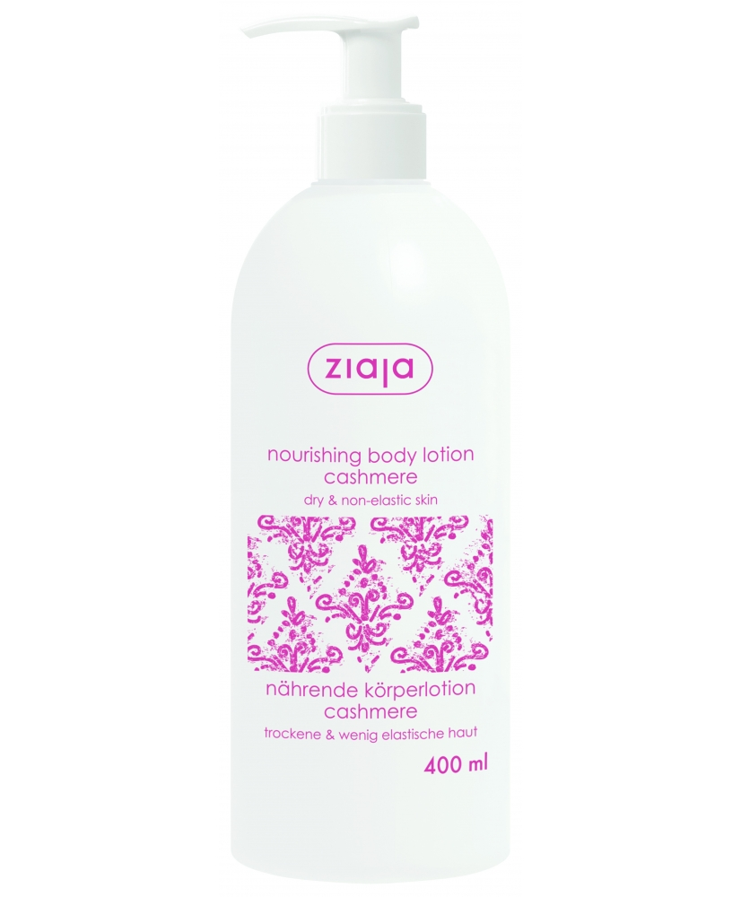 Ziaja cashmere - nourishing body lotion for body 400ml - Onde comprar