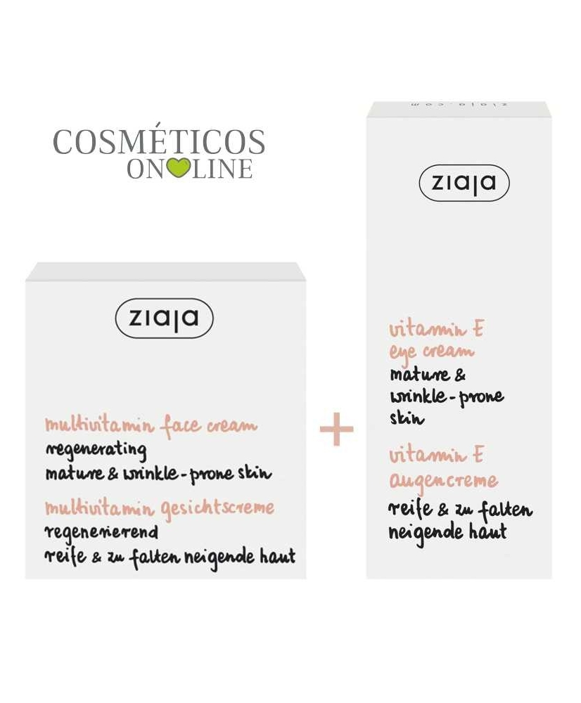 Ziaja Multivitamin – face cream + eye cream 1+1 free - Onde comprar