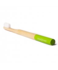Coisa Verde - Vegan bamboo toothbrush for adults Green - Onde comprar