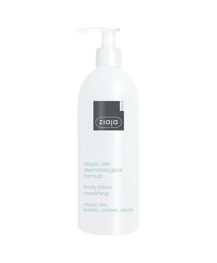Ziaja MED – Atopic skin nourishing body lotion 400ml - Onde comprar