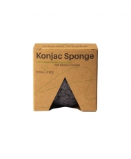 Coisa Verde - Konjac vegan sponge for face and body with bamboo charcoal - Onde comprar