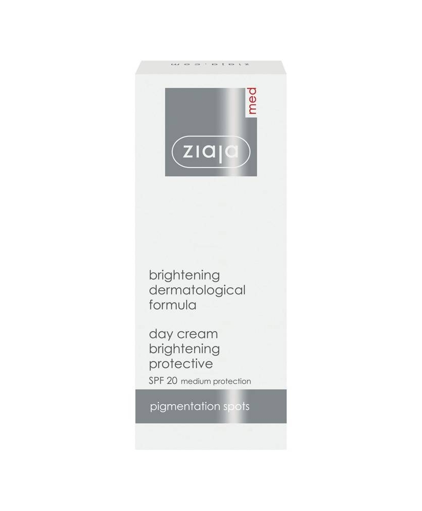 Ziaja MED – Brightening protective day cream SPF 20 50ml - Onde comprar