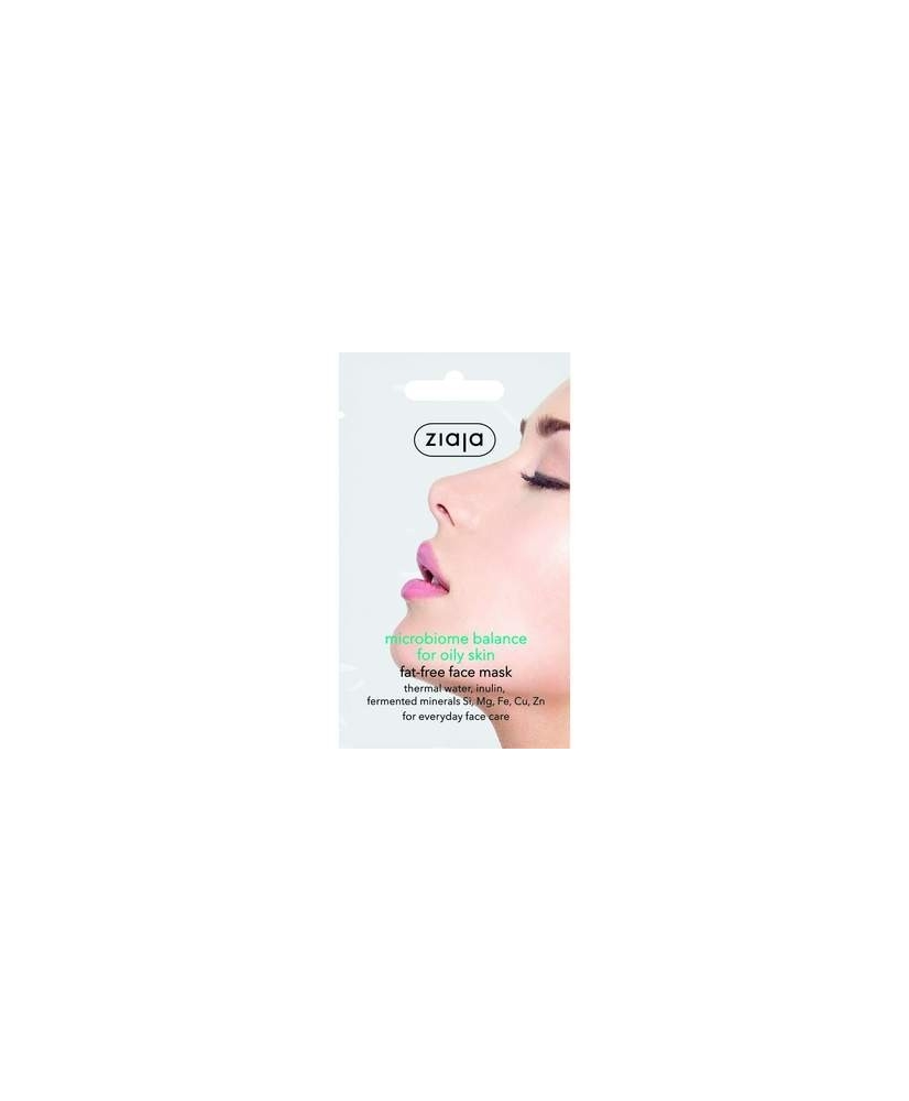 Ziaja Microbiome – face mask for oily skin 7ml - Onde comprar