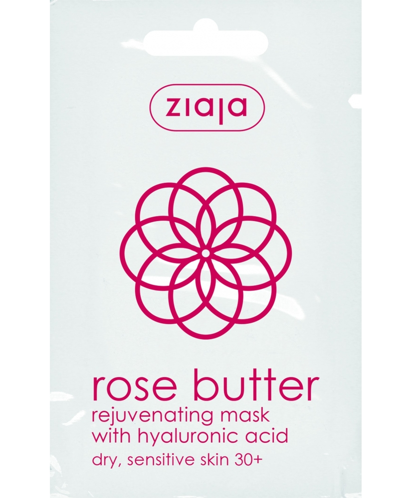 Ziaja Rose Butter – Rejuvenating face mask 7ml - Onde comprar