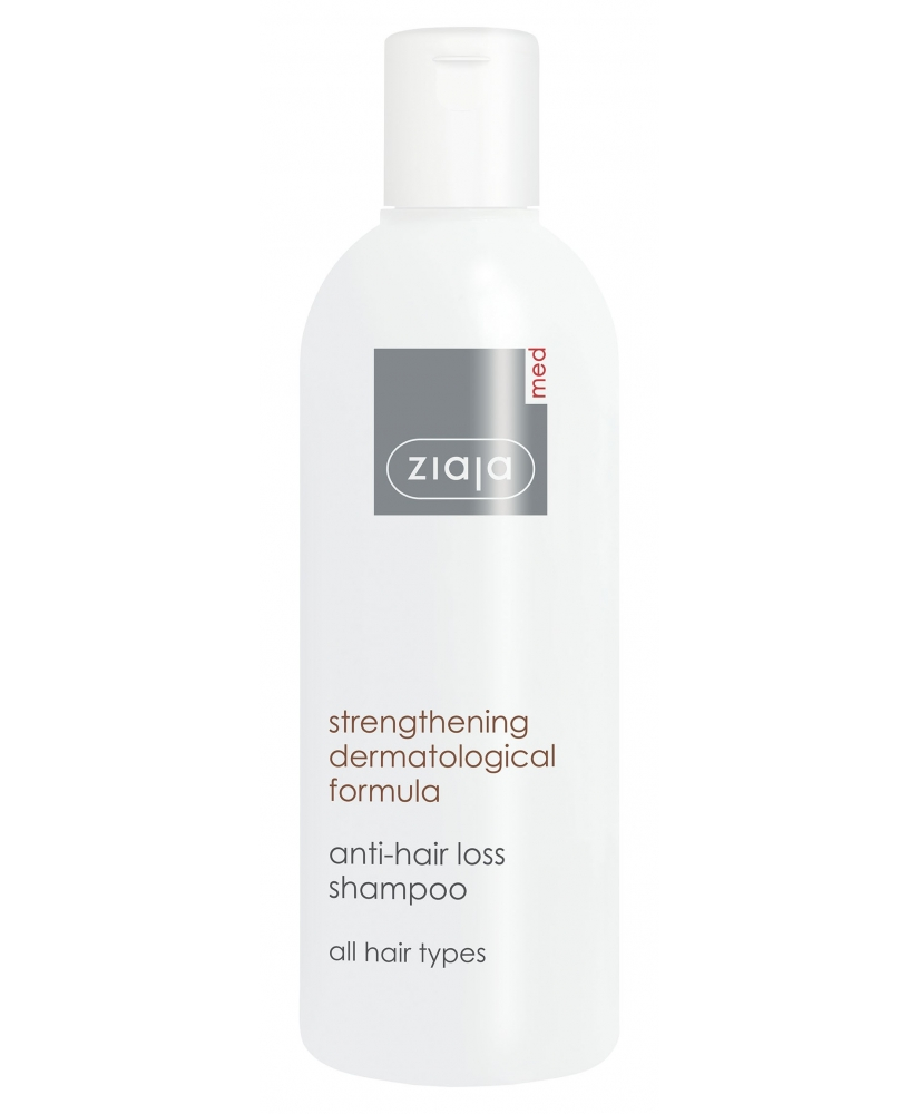 Ziaja MED – anti-hair loss shampoo strengthening 300ml - Onde comprar