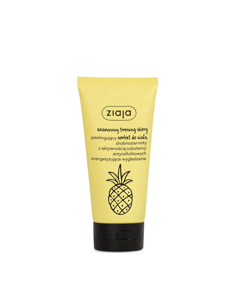 Ziaja Pineapple – Anti-cellulite peeling body sorbet 160ml - Onde comprar
