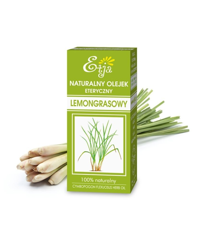 Etja – 100% natural & vegan Lemongrass essential oil 10ml - Onde comprar