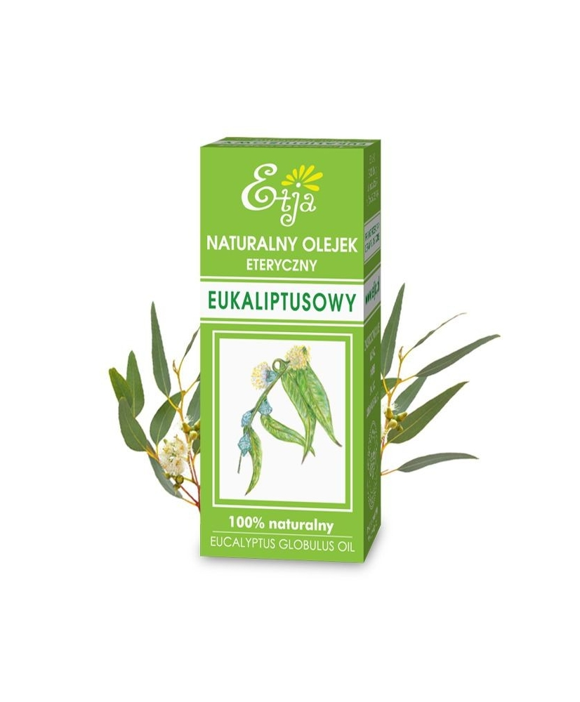 Etja – 100% natural & vegan Eucalyptus essential oil 10ml - Onde comprar
