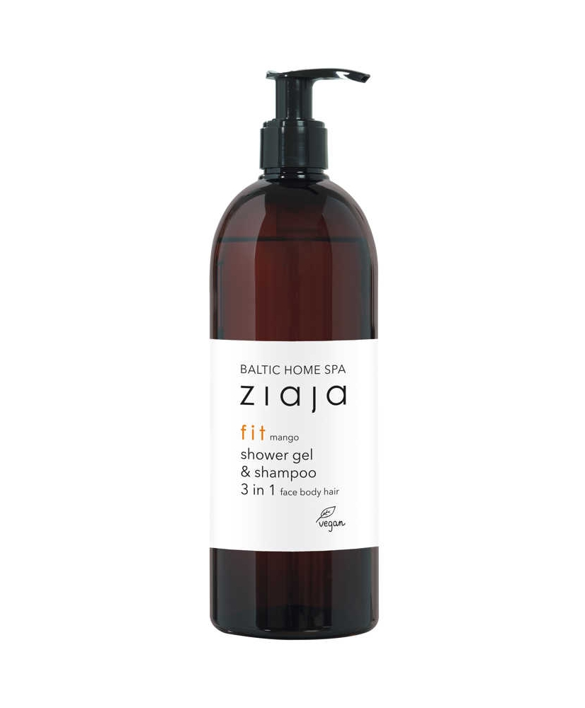 Ziaja BALTIC HOME SPA – Fit shower gel and shampoo 3in1 Face Body Hair 500ml - Onde comprar